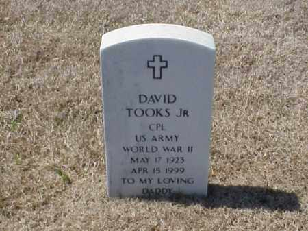 TOOKS, JR (VETERAN WWII), DAVID - Pulaski County, Arkansas | DAVID TOOKS, JR (VETERAN WWII) - Arkansas Gravestone Photos