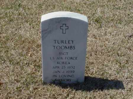 TOOMBS (VETERAN KOR), TURLEY - Pulaski County, Arkansas | TURLEY TOOMBS (VETERAN KOR) - Arkansas Gravestone Photos