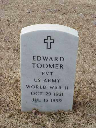 TOOMER  (VETERAN WWII), EDWARD - Pulaski County, Arkansas | EDWARD TOOMER  (VETERAN WWII) - Arkansas Gravestone Photos