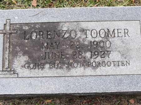 TOOMER, LORENZO - Pulaski County, Arkansas | LORENZO TOOMER - Arkansas Gravestone Photos