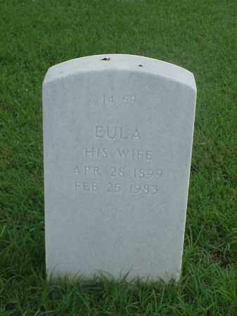 TORALL, EULA - Pulaski County, Arkansas | EULA TORALL - Arkansas Gravestone Photos