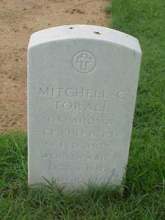 TORALL (VETERAN WWI), MITCHELL C - Pulaski County, Arkansas | MITCHELL C TORALL (VETERAN WWI) - Arkansas Gravestone Photos