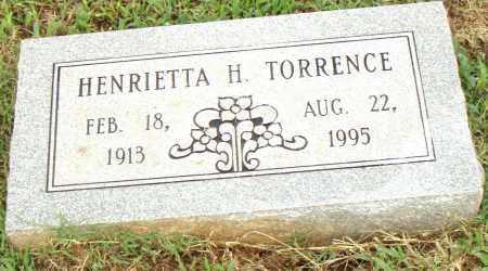 TORRENCE, HENRIETTA H. - Pulaski County, Arkansas | HENRIETTA H. TORRENCE - Arkansas Gravestone Photos