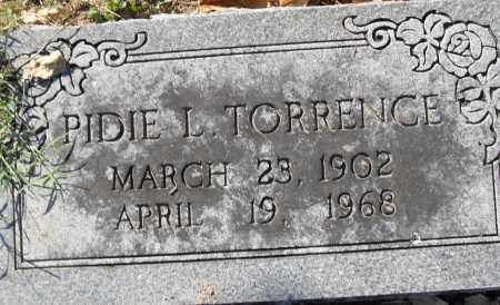TORRENCE, PIDIE L - Pulaski County, Arkansas | PIDIE L TORRENCE - Arkansas Gravestone Photos