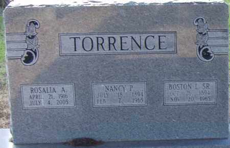 TORRENCE, ROSALIA A. - Pulaski County, Arkansas | ROSALIA A. TORRENCE - Arkansas Gravestone Photos