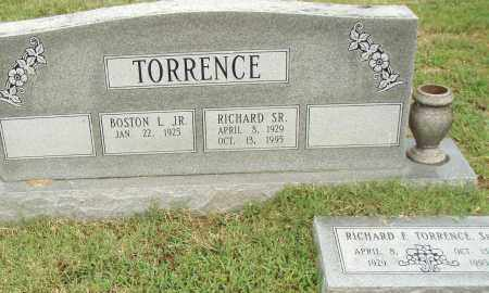 TORRENCE, SR., RICHARD F. - Pulaski County, Arkansas | RICHARD F. TORRENCE, SR. - Arkansas Gravestone Photos
