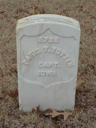 TOTTEN (VETERAN UNION), PARIS T - Pulaski County, Arkansas | PARIS T TOTTEN (VETERAN UNION) - Arkansas Gravestone Photos
