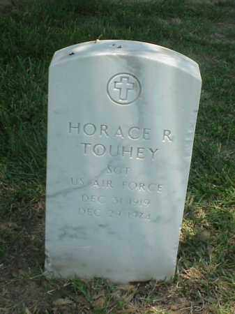 TOUHEY (VETERAN), HORACE R - Pulaski County, Arkansas | HORACE R TOUHEY (VETERAN) - Arkansas Gravestone Photos