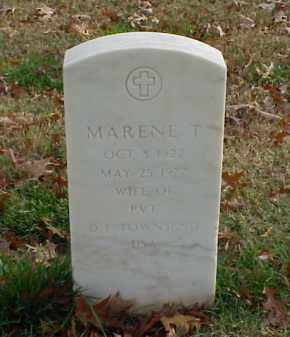 TOWNSEND, MARENE T - Pulaski County, Arkansas | MARENE T TOWNSEND - Arkansas Gravestone Photos