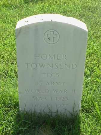TOWNSEND (VETERAN WWII), HOMER - Pulaski County, Arkansas | HOMER TOWNSEND (VETERAN WWII) - Arkansas Gravestone Photos