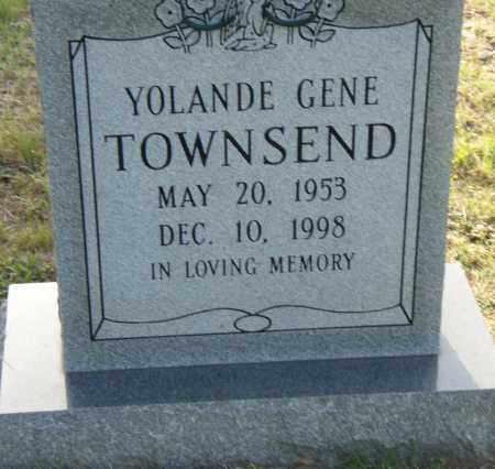 TOWNSEND, YOLANDE GENE - Pulaski County, Arkansas | YOLANDE GENE TOWNSEND - Arkansas Gravestone Photos