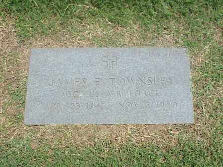 TOWNSLEY (VETERAN), JAMES E - Pulaski County, Arkansas | JAMES E TOWNSLEY (VETERAN) - Arkansas Gravestone Photos