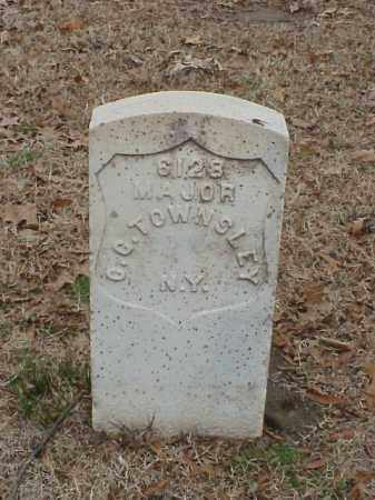 TOWNSLEY (VETERAN UNION), C G - Pulaski County, Arkansas | C G TOWNSLEY (VETERAN UNION) - Arkansas Gravestone Photos