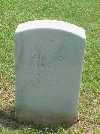 TRAFTON, MAY D - Pulaski County, Arkansas | MAY D TRAFTON - Arkansas Gravestone Photos