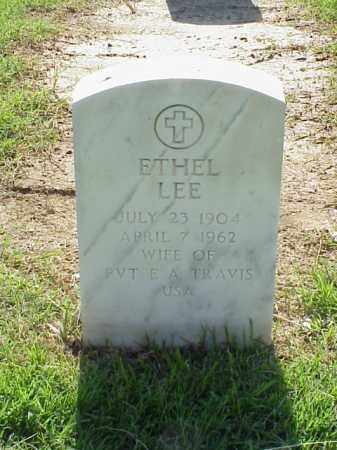 LEE TRAVIS, ETHEL - Pulaski County, Arkansas | ETHEL LEE TRAVIS - Arkansas Gravestone Photos