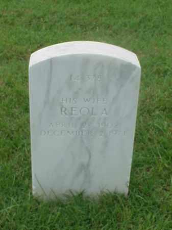 TRAVIS, REOLA - Pulaski County, Arkansas | REOLA TRAVIS - Arkansas Gravestone Photos
