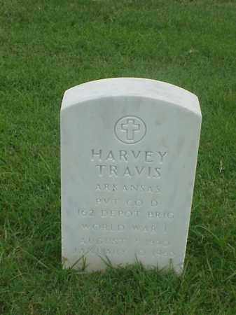 TRAVIS (VETERAN WWI), HARVEY - Pulaski County, Arkansas | HARVEY TRAVIS (VETERAN WWI) - Arkansas Gravestone Photos