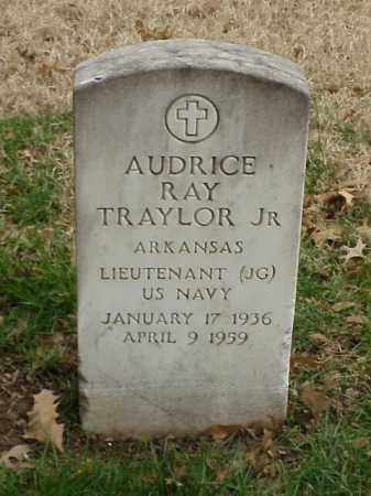 TRAYLOR, JR (VETERAN), AUDRICE RAY - Pulaski County, Arkansas | AUDRICE RAY TRAYLOR, JR (VETERAN) - Arkansas Gravestone Photos