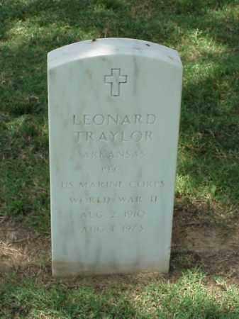 TRAYLOR (VETERAN WWII), LEONARD - Pulaski County, Arkansas | LEONARD TRAYLOR (VETERAN WWII) - Arkansas Gravestone Photos