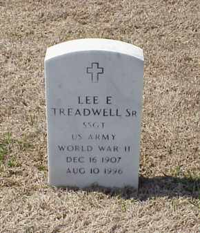 TREADWELL, SR (VETERAN WWII), LEE E - Pulaski County, Arkansas | LEE E TREADWELL, SR (VETERAN WWII) - Arkansas Gravestone Photos
