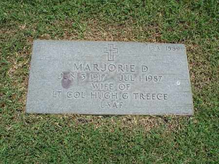 TREECE, MARJORIE D - Pulaski County, Arkansas | MARJORIE D TREECE - Arkansas Gravestone Photos