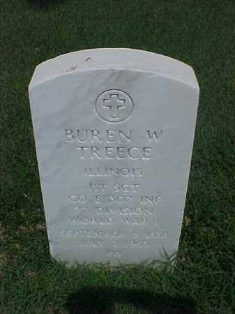 TREECE (VETERAN WWI), BUREN W - Pulaski County, Arkansas | BUREN W TREECE (VETERAN WWI) - Arkansas Gravestone Photos