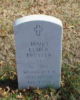 TREXLER (VETERAN WWII), JAMES ELMER - Pulaski County, Arkansas | JAMES ELMER TREXLER (VETERAN WWII) - Arkansas Gravestone Photos