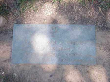 TRICE (VETERAN 2 WARS), RAYMOND L - Pulaski County, Arkansas | RAYMOND L TRICE (VETERAN 2 WARS) - Arkansas Gravestone Photos