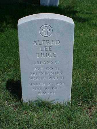 TRICE (VETERAN WWII), ALFRED LEE - Pulaski County, Arkansas | ALFRED LEE TRICE (VETERAN WWII) - Arkansas Gravestone Photos