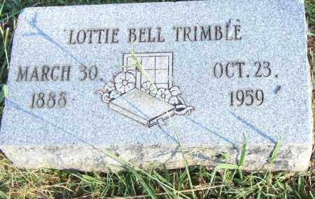 TRIMBLE, LOTTIE BELL - Pulaski County, Arkansas | LOTTIE BELL TRIMBLE - Arkansas Gravestone Photos