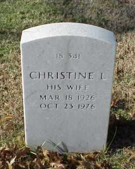 TRIPP, CHRISTINE L - Pulaski County, Arkansas | CHRISTINE L TRIPP - Arkansas Gravestone Photos