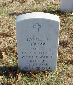 TRIPP (VETERAN 3 WARS), JAMES F - Pulaski County, Arkansas | JAMES F TRIPP (VETERAN 3 WARS) - Arkansas Gravestone Photos