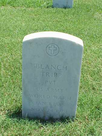 TRIPP (VETERAN WWI), BLANCH - Pulaski County, Arkansas | BLANCH TRIPP (VETERAN WWI) - Arkansas Gravestone Photos