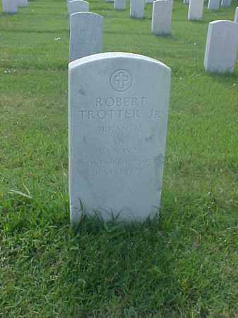 TROTTER, JR (VETERAN), ROBERT - Pulaski County, Arkansas | ROBERT TROTTER, JR (VETERAN) - Arkansas Gravestone Photos