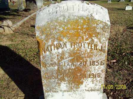 TROTTER JR, NATHAN - Pulaski County, Arkansas | NATHAN TROTTER JR - Arkansas Gravestone Photos