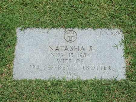 TROTTER, NATASHA S - Pulaski County, Arkansas | NATASHA S TROTTER - Arkansas Gravestone Photos