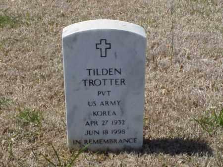 TROTTER (VETERAN KOR), TILDEN - Pulaski County, Arkansas | TILDEN TROTTER (VETERAN KOR) - Arkansas Gravestone Photos