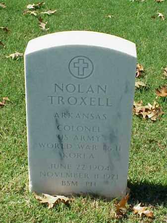 TROXELL (VETERAN 3 WARS), NOLAN - Pulaski County, Arkansas | NOLAN TROXELL (VETERAN 3 WARS) - Arkansas Gravestone Photos