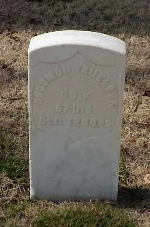 TRUELOCK (VETERAN UNION), SOLOMON - Pulaski County, Arkansas | SOLOMON TRUELOCK (VETERAN UNION) - Arkansas Gravestone Photos
