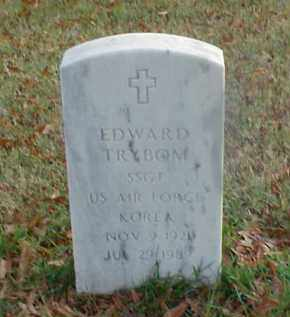 TRYBOM (VETERAN KOR), EDWARD - Pulaski County, Arkansas | EDWARD TRYBOM (VETERAN KOR) - Arkansas Gravestone Photos