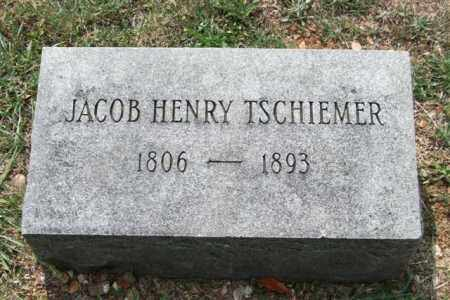 TSCHIEMER, JACOB HENRY - Pulaski County, Arkansas | JACOB HENRY TSCHIEMER - Arkansas Gravestone Photos