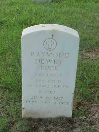 TUCK (VETERAN KOR), RAYMOND DEWEY - Pulaski County, Arkansas | RAYMOND DEWEY TUCK (VETERAN KOR) - Arkansas Gravestone Photos