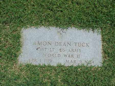 TUCK (VETERAN WWII), AMON DEAN - Pulaski County, Arkansas | AMON DEAN TUCK (VETERAN WWII) - Arkansas Gravestone Photos