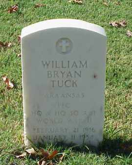 TUCK (VETERAN WWII), WILLIAM BRYAN - Pulaski County, Arkansas | WILLIAM BRYAN TUCK (VETERAN WWII) - Arkansas Gravestone Photos