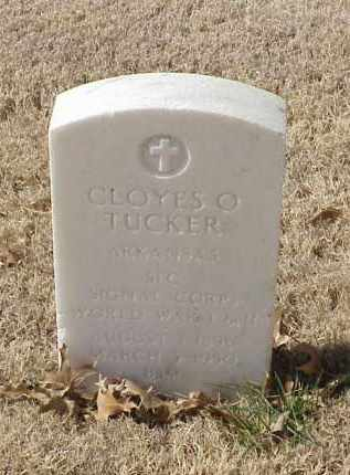 TUCKER (VETERAN 2 WARS), CLOYES O - Pulaski County, Arkansas | CLOYES O TUCKER (VETERAN 2 WARS) - Arkansas Gravestone Photos