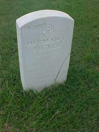 TUCKER (VETERAN 2 WARS), HERMAN F - Pulaski County, Arkansas | HERMAN F TUCKER (VETERAN 2 WARS) - Arkansas Gravestone Photos