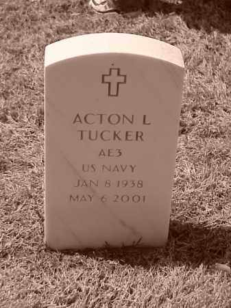 TUCKER (VETERAN), ACTON L - Pulaski County, Arkansas | ACTON L TUCKER (VETERAN) - Arkansas Gravestone Photos