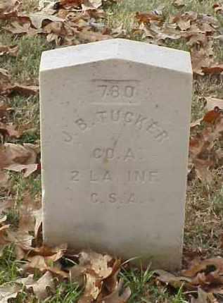 TUCKER (VETERAN CSA), J B - Pulaski County, Arkansas | J B TUCKER (VETERAN CSA) - Arkansas Gravestone Photos