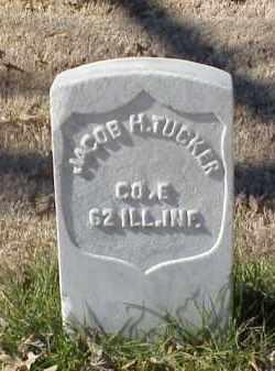 TUCKER (VETERAN UNION), JACOB H - Pulaski County, Arkansas | JACOB H TUCKER (VETERAN UNION) - Arkansas Gravestone Photos