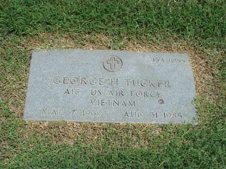 TUCKER (VETERAN VIET), GEORGE H - Pulaski County, Arkansas | GEORGE H TUCKER (VETERAN VIET) - Arkansas Gravestone Photos